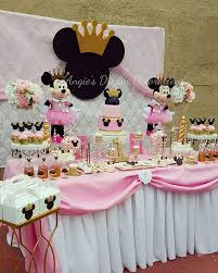 princess minnie mouse birthday party princesspartyideas