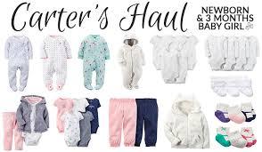 baby clothing haul newborn pretty neat living