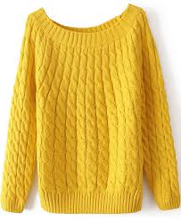 yellow sweater yellow sleeve cable knit sweater abaday com