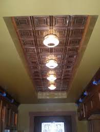 Fluorescent Kitchen Lights Ceiling Remodel Flourescent Light Box In Kitchen We Also Replaced The