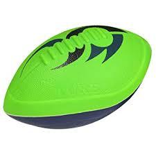 amazon nerf turbo jr football green blue toys u0026 games