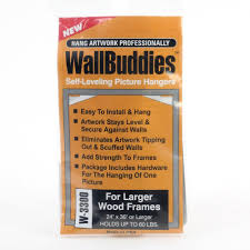 Wall Picture Frames by Wall Buddies Hanger For Large Wood Picture Frames Set Of 3