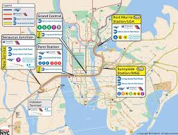Metro North Maps by To Ease Penn Station Woes A New Plan Calls For A Transit Hub In