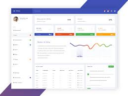 Infinity Free Dashboard PSD Home Page 2