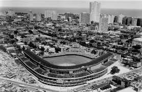Chicago Cubs Map by Wrigley Field Chicago Cubs Ballpark Ballparks Of Baseball