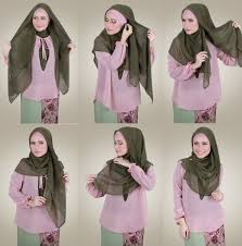 tutorial jilbab remaja yang simple hijab style tutorial home facebook
