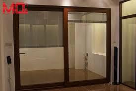soundproof glass sliding doors career patio wood grain color soundproof lowes sliding glass doors