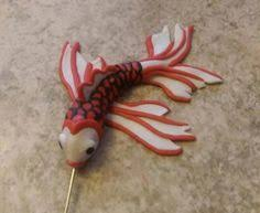 make butterfly koi from polymer clay butterfly koi felt fish