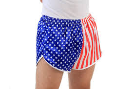 American Flag Jean Shorts Men Amazon Com Usa American Flag Running Shorts Clothing