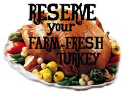 order your farm fresh turkey for thanksgiving acres