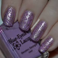 bridal shower nails partly cloudy with a chance of lacquer