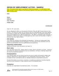 offer letter format for accountant pdf sample offer of employment letter the letter sample sample offer letter of employment letter format writing with sample offer of employment letter