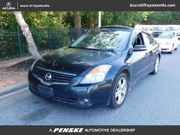 nissan altima coupe 3 5 se 2009 used nissan altima 4dr sedan v6 cvt 3 5 se at honda of