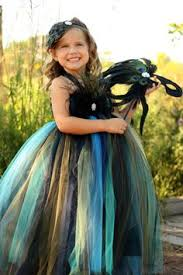 Halloween Peacock Costume Peacock Flower Peacock Dress Peacock Thecreatorstouch
