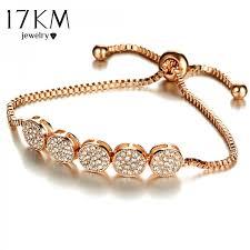 adjustable bracelet images 2017 fashion adjustable bracelets for women crystal bracelet charm jpeg