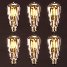 antique led bulb oak leaf 4w st64 vintage edison light bulb led