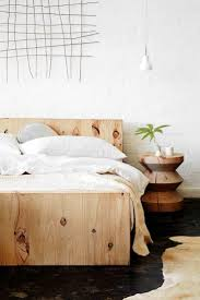Pinterest Bedroom Decor by Top 25 Best Rustic Wood Bed Frame Ideas On Pinterest Shiplap