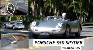 porsche 550 spyder garagem do bellote tv porsche 550 spyder recriação youtube