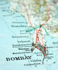 Mumbai India Map by Mumbai India Stock Photo 145840815 Istock