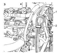 repair instructions on vehicle engine mount vacuum hose
