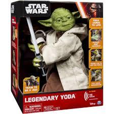 star wars legendary jedi master yoda walmart com
