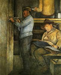 the painter the painter the sculptor and the architect 1923 1928 diego