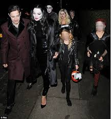 Morticia Addams Halloween Costumes Celebrity Halloween Costumes 2012 Kate Moss Jamie Hince
