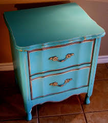 Turquoise Side Table Bedroom Unique Turquoise Nightstand For Your Bed Side Table Ideas