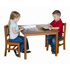 guidecraft childrens table and chairs guidecraft kids table chair sets you ll love wayfair
