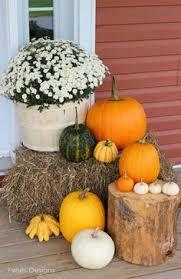 Fall Hay Decorations - fall decor decor creative design ideas pinterest