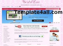 wooden pink zen cart template download
