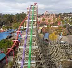 Six Flags Dolphin Swim 2016 Neuheit The Joker Hybrid Coaster Rmc Six Flags