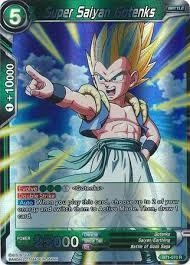 super saiyan gotenks bt1 070 rare dragon ball super