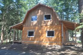 log home styles barn gambrel style ecolog on vancouver island