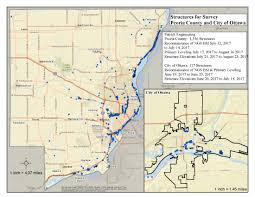 Illinois City Map by Illinois Flood Risk Assessment