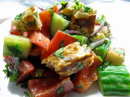 Easy Christmas Appetizers Finger Foods Chopped Halloumi Salad With A Dijon Mustard Vinaigrette Eat
