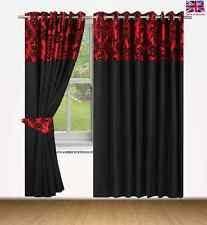 Black And Cream Damask Curtains Damask Curtains U0026 Pelmets Ebay