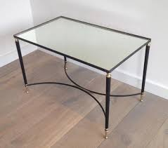 brass tables for sale black lacquered metal and brass coffee table 1950s for sale at pamono