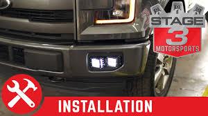 2015 f150 led fog lights 2015 2016 f 150 rigid industries dual d series fog light bucket