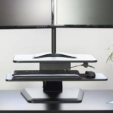 vivo height adjustable standing desk u0026 reviews wayfair