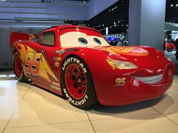 cars sally and lightning mcqueen most accurate life sized lightning mcqueen also hellcat mcqueen