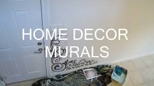 wall art mural custom hand painted home decor art youtube