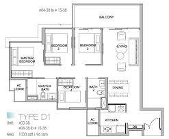 4 bedroom floor plan kingsford waterbay floor plans