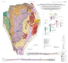 map of oregon nevada geologic map of the mcdermitt caldera humboldt county nevada and