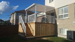 Deck Patio Cover Natural Light Patio Covers Dave Vanam Inc Southern Ontario U0026 Gta