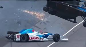 crash test siege auto formula baby dixon cheats after horror crash during indianapolis 500