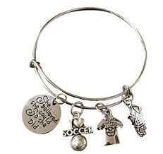 girls bracelet images Infinity collection soccer bracelet soccer jewelry jpg