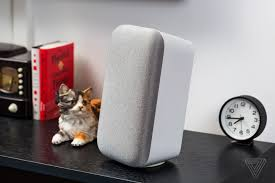 first look at google home mini and max the verge