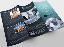 2 fold brochure template psd autodesk brochures search brochure designs