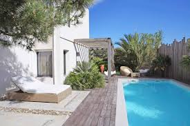 villa for rent in chiberta anglet swimming pool view of the